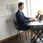"<img src=""funny-telehealth-posture.jpg"" alt=""man on telehealth wearing suit and shorts"">"